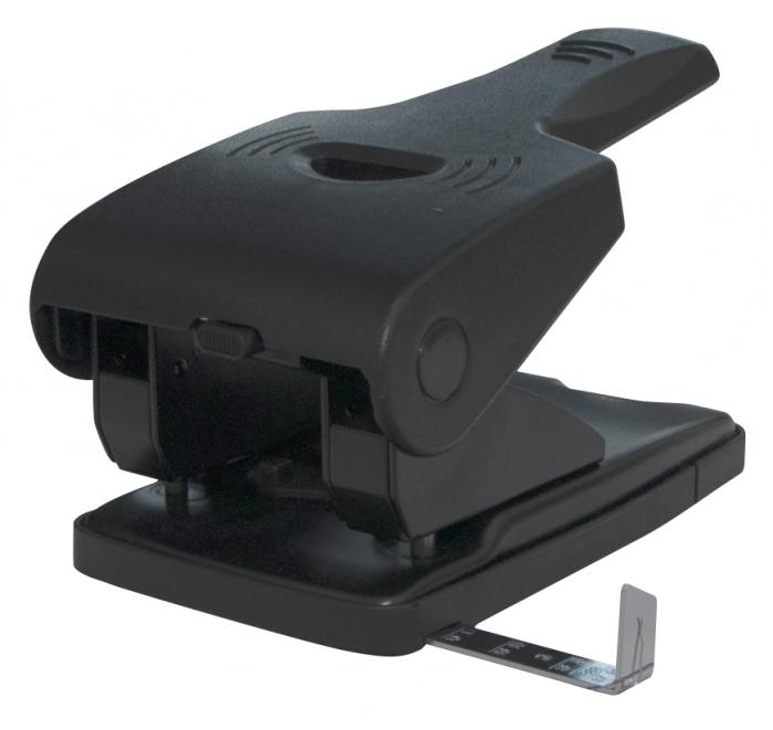 Perforator metalic, 65 coli, Office Products - negru 2