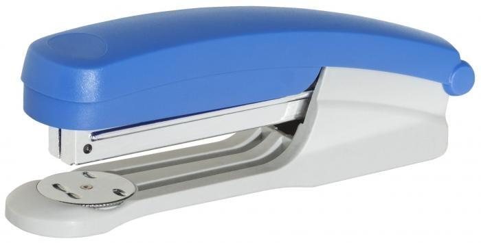 Capsator 30 coli, capse 24/6 si 26/6, Office Products - albastru 2