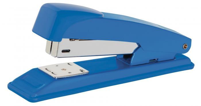 Capsator metalic  30 coli, capse 24/6 si 26/6, Office Products - albastru 2