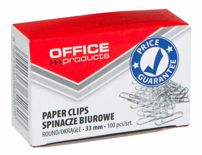 Agrafe metalice 33mm, 100/cutie, Office Products 1
