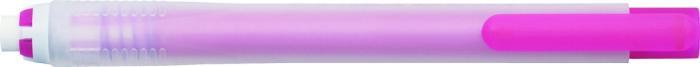 Radiera mecanica PENAC Rub Out Bold, cilindrica, 100% cauciuc - corp rosu 1