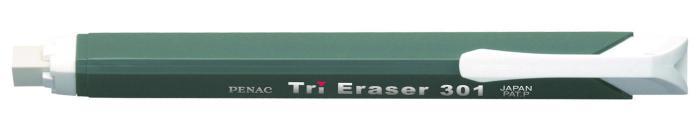 Radiera mecanica PENAC Tri Eraser, triunghiulara, 100% cauciuc - corp gri [1]