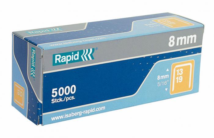 Capse RAPID 13/ 8, 5.000 buc/cutie - pentru pistol de capsat RAPID M10Y [1]