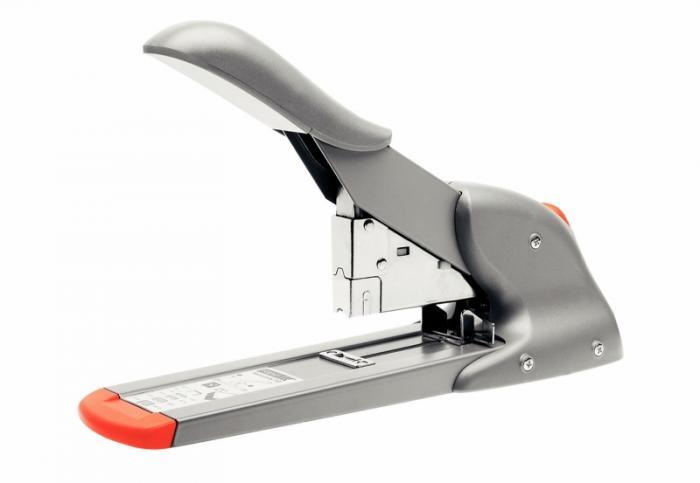 Capsator de mare capacitate profesional, RAPID HD 110, 110 coli - argintiu/portocaliu [1]