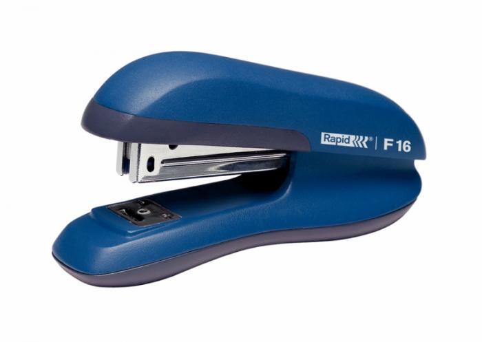 Capsator plastic RAPID F16, 30 coli - albastru 2