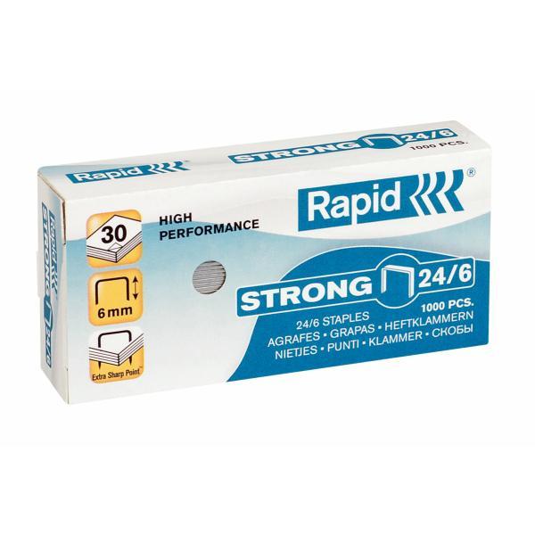 Capse RAPID Strong 24/6, 1000 buc/cutie [0]