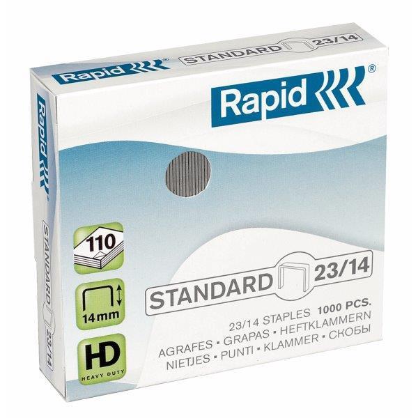 Capse RAPID Standard 23/14, 1000 buc/cutie - 80-110 coli [0]