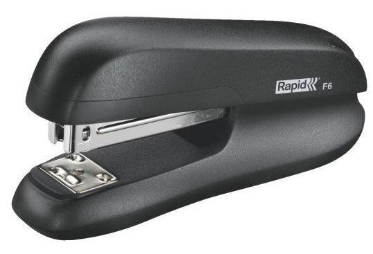 Capsator plastic RAPID F6, 20 coli - negru 0