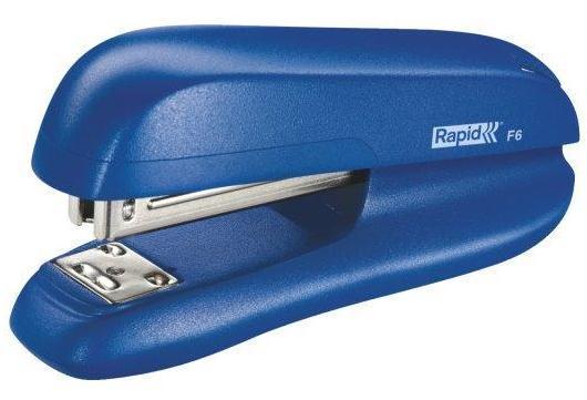 Capsator plastic RAPID F6, 20 coli - albastru 1