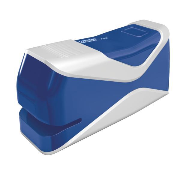 Capsator electric RAPID Fixativ Mobile 10BX, 10 coli - albastru 2