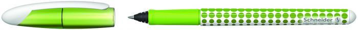 Roller cu cartus SCHNEIDER Voyage - verde/alb 1