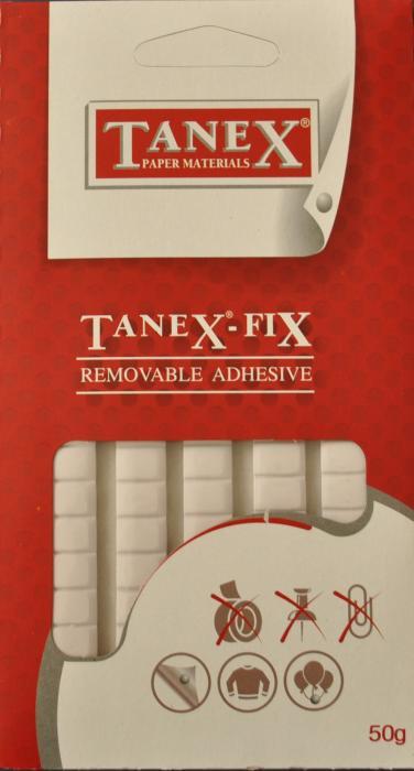 Pastile adezive nepermanente, 50gr, 85buc/set, Tanex Fix [1]