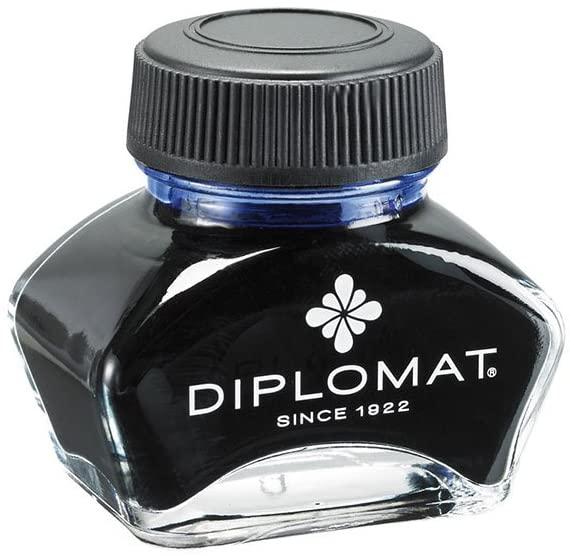 Calimara cu cerneala, 30ml, DIPLOMAT - albastru royal [0]