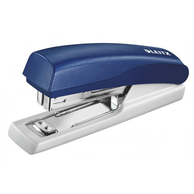 Capsator plastic, LEITZ 5517 Mini NeXXt Series, 10 coli - albastru 0