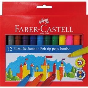 Carioca Jumbo Faber-Castell - 12 culori 0