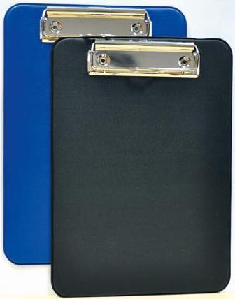 Clipboard simplu A5, plastifiat, ALCO - albastru 0