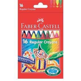 Creioane Cerate Clown Faber-Castell - 16 culori 0