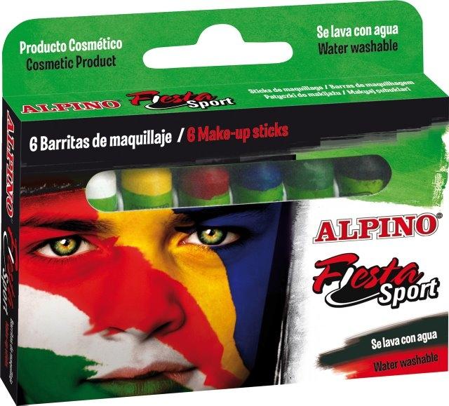Creioane machiaj, 6 culori/cutie, ALPINO Sport 0