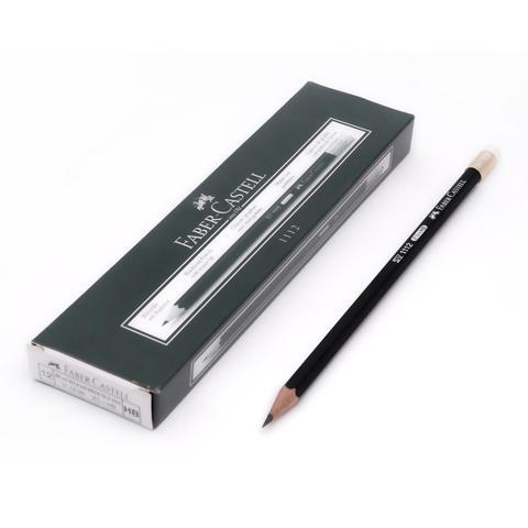 Creion Grafit Cu Guma 1112 Faber-Castell 0