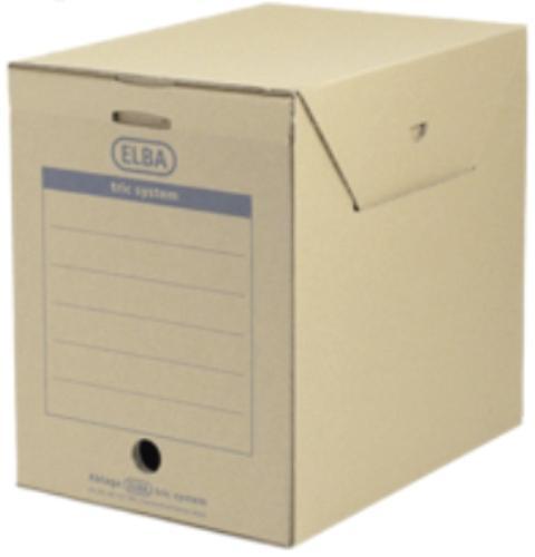 Cutie arhivare 236 x 333 x 308 mm, ELBA Tric Maxi - kraft 0