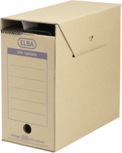 Cutie arhivare dosare suspendabile, 236 x 333 x 308 mm, ELBA Tric Maxi - kraft [0]