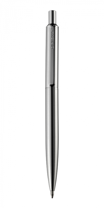 DIPLOMAT Equipment Matt Chrome - pix cu accesorii metalice [0]