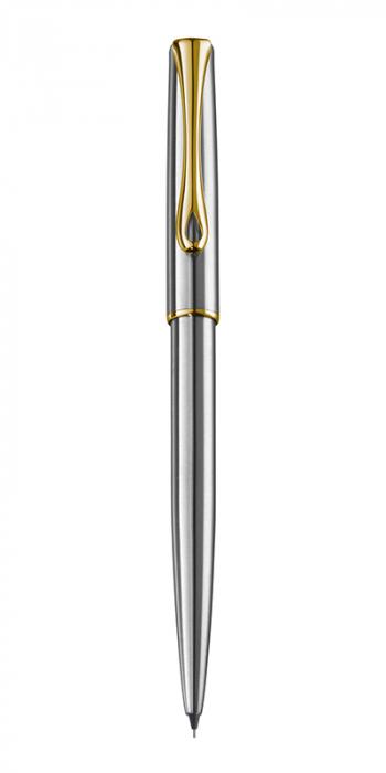 DIPLOMAT Traveller stainless steel gold - creion mecanic 0.5mm [0]