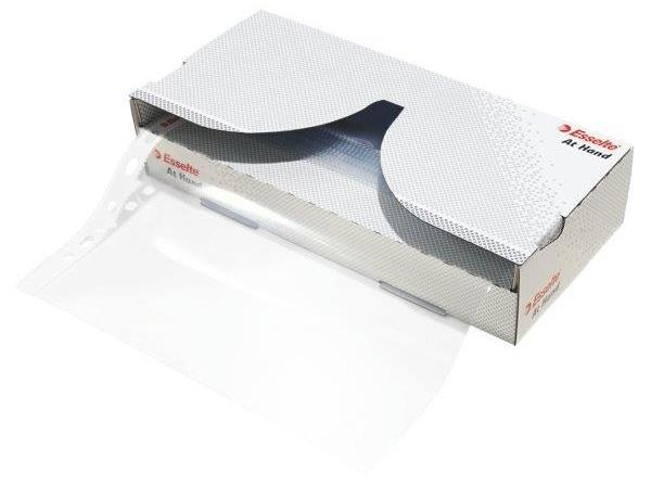 Dispenser cu folii de protectie ESSELTE, A4, cristal, 55 mic, cutie de 40 buc [0]