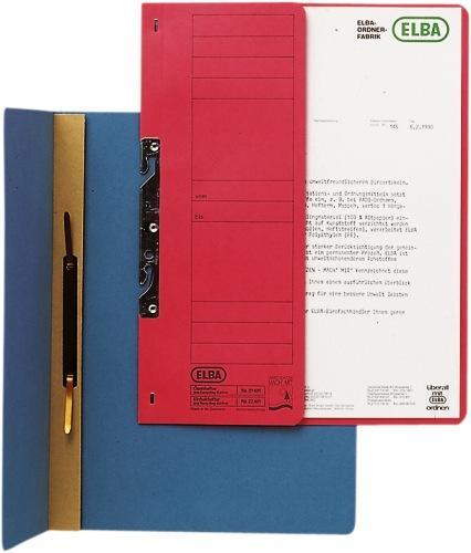 Dosar carton incopciat 1/2  ELBA - rosu 0