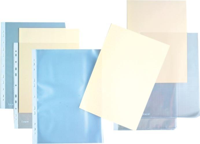 """Folie  protectie """"L"""" pentru documente A4, 140 microni, KANGARO - cristal 0"""