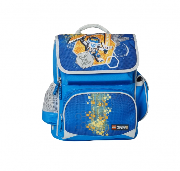 Ghiozdan scoala Premium LEGO Core Line - design bleu Nexo Knights 1
