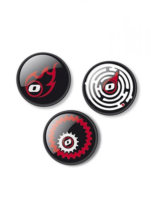 Insigne, 3buc/set, Roller NIKIDOM - Fire 1