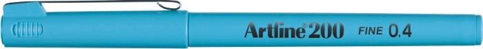 Liner ARTLINE 200, varf fetru 0.4mm - bleu [0]