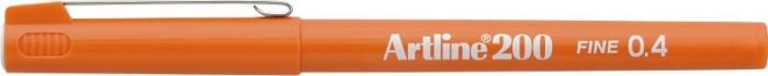 Liner ARTLINE 200, varf fetru 0.4mm - portocaliu [0]