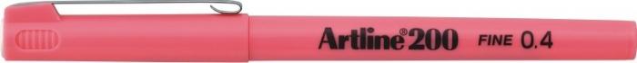 Liner ARTLINE 200, varf fetru 0.4mm - roz [0]