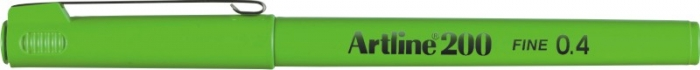 Liner ARTLINE 200, varf fetru 0.4mm - vernil [0]