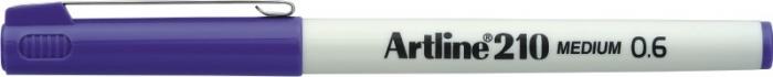 Liner ARTLINE 210, varf fetru 0.6mm - mov [0]