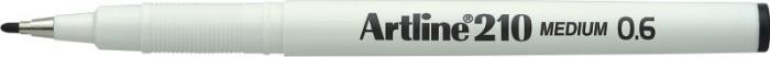 Liner ARTLINE 210, varf fetru 0.6mm - negru [0]