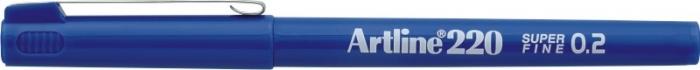 Liner ARTLINE 220, varf fetru 0.2mm - albastru [0]