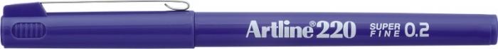 Liner ARTLINE 220, varf fetru 0.2mm - violet [0]