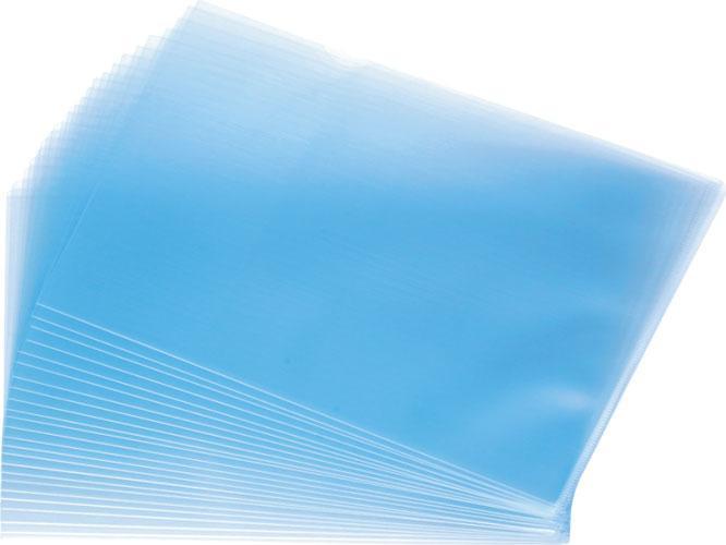 "Mapa protectie ""L"" pentru documente A4, PVC - 180 microni, KANGARO - cristal [0]"