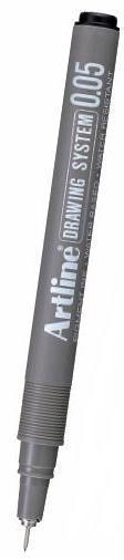Marker pentru desen tehnic ARTLINE, varf fetru 0.05mm - negru [0]