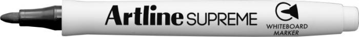 Marker pentru tabla de scris ARTLINE Supreme - Dry safe ink, varf rotund 1.5mm - negru 0