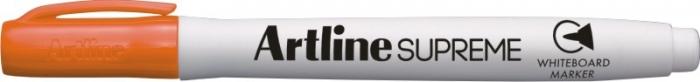 Marker pentru tabla de scris ARTLINE Supreme - Dry safe ink, varf rotund 1.5mm - portocaliu 0