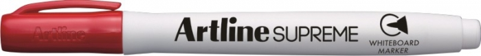 Marker pentru tabla de scris ARTLINE Supreme - Dry safe ink, varf rotund 1.5mm - rosu [0]