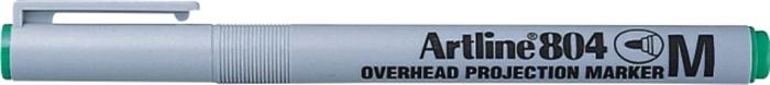OHP Non-Permanent marker ARTLINE 804, varf mediu - 1.0mm - verde [0]