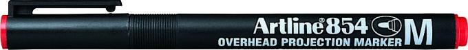 OHP Permanent marker ARTLINE 854, varf mediu - 1.0mm - rosu [0]
