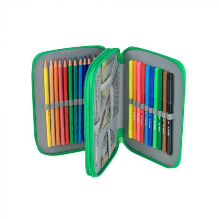 Penar dublu, cu 2 fermoare, echipat, ALPINO Colors [2]