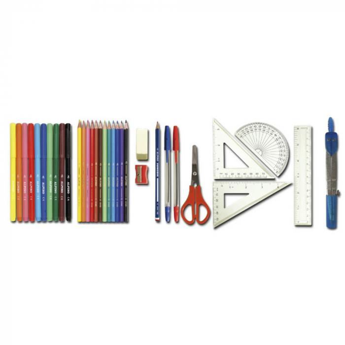 Penar dublu, cu 2 fermoare, echipat, ALPINO Colors [1]