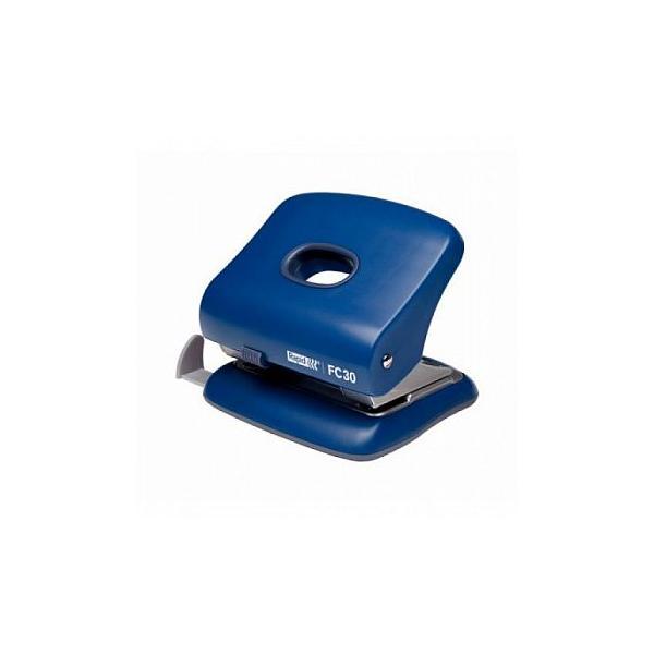Perforator plastic RAPID FC30, 30 coli - albastru 0